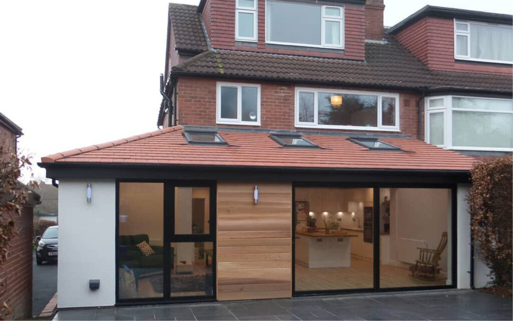 ground floor house extension Mrs Smith Manchester