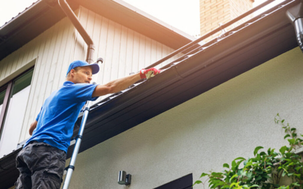 gutter cleaning and property maintenance service for manchester